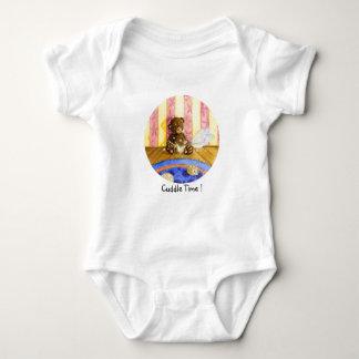 Cuddle time! baby bodysuit