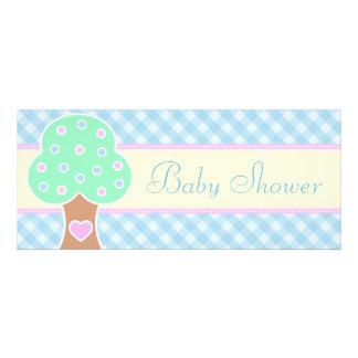 Cuddle Tree Logo Baby Shower Invitations