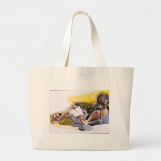 Cuddle Up With A Good Book Jumbo Tote Bag