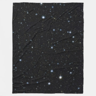Cuddle up with the stars - astronomy picture fleece blanket
