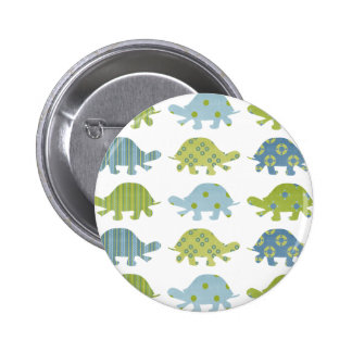 Cuddlebeez Easygoing Turtles Tees and Gifts Pinback Button