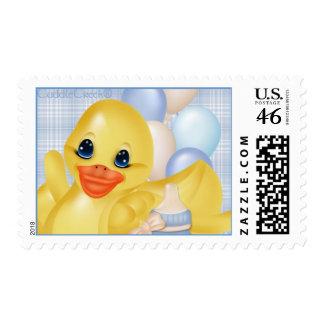 CuddleCreek® Bathtub Ducky Postage Stamp