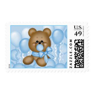 CuddleCreek® BubbleGum Bear Stamp