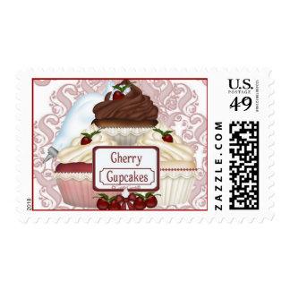 CuddleCreek® ClassyCupcakes Postage Stamp