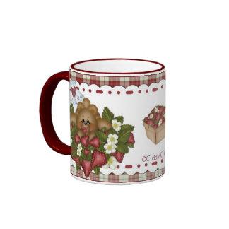 CuddleCreek® Strawbeary Cafe Mug