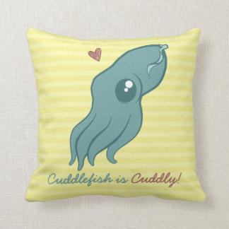 Cuddlefish es mimoso almohadas