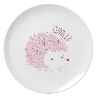 Cuddler Dinner Plate