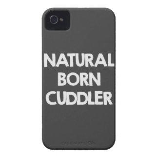 Cuddler llevado natural iPhone 4 Case-Mate fundas