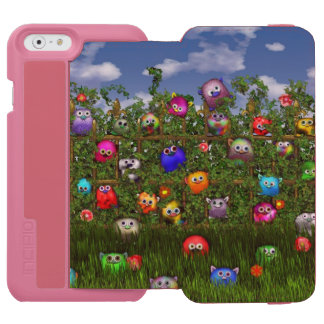 Cuddles by the fence iPhone 6/6s wallet case