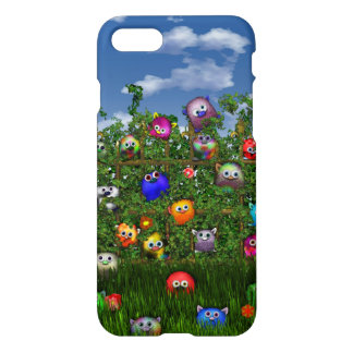 Cuddles by the fence iPhone 8/7 case