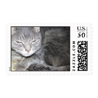 Cuddles Postage Stamp