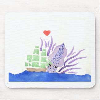 Cuddles the Kraken Mouse Pad