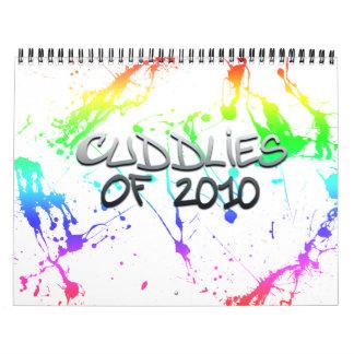Cuddlies de Calener 2010 Calendarios De Pared