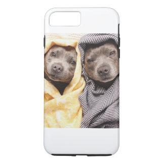 Cuddling Dogs iPhone 7 Plus Case