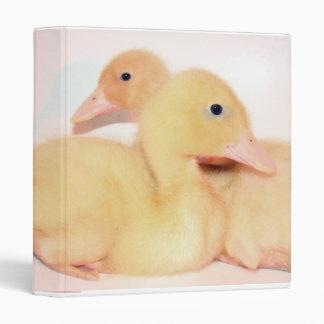 Cuddling Ducklings Binder