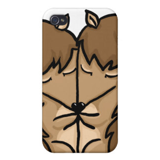 Cuddling Hedgehogs in love Case For iPhone 4