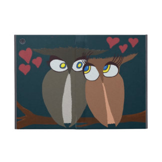 Cuddling Infatuated Owls~ IPad Mini Case