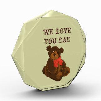 Cuddly Bear Dad Award