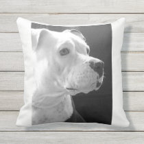 Cuddly BestFriend Throw Pillow