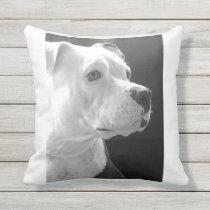 Cuddly BestFriend Throw Pillow