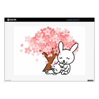 "Cuddly Bunies 15"" Laptop Skin"