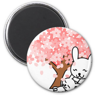 Cuddly Bunies Magnet