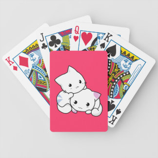 Cuddly Cats Bicycle Playing Cards