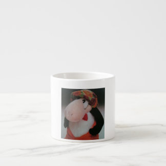CUDDLY COFFEE CUP 6 OZ CERAMIC ESPRESSO CUP