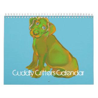 Cuddly Critters Calendar