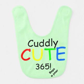 Cuddly Cute 365 Days a Year Seafoam Green Baby Bibs