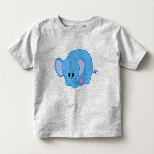Cuddly Elephant Friend Tee Shirt