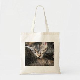 Cuddly Kitten Tote Bag