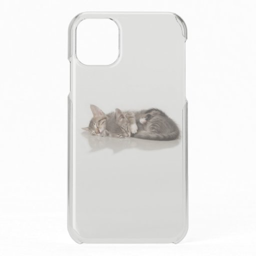 cuddly kittens Case-Mate iPhone case