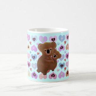 Cuddly Koala Love Classic White Coffee Mug