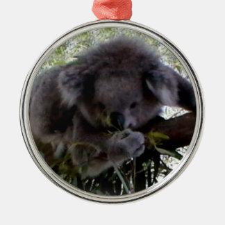 Cuddly Koala Metal Ornament