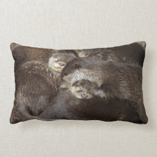 Cuddly otters pillows