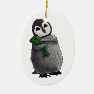 Cuddly Penguin Ornament