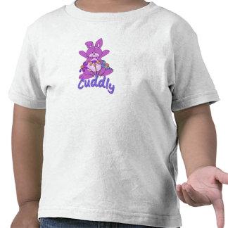 Cuddly Pink Bunny Rabbit T Shirt