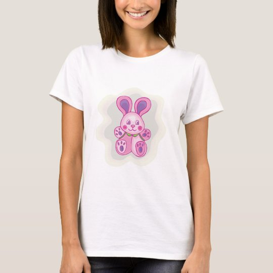 Cuddly Pink Bunny T-Shirt