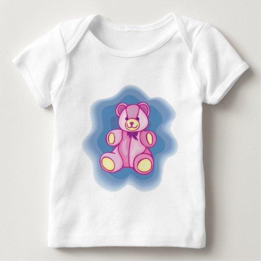 Cuddly Pink Teddy Bear Baby T-Shirt
