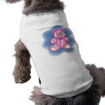 Cuddly Pink Teddy Bear Dog T Shirt