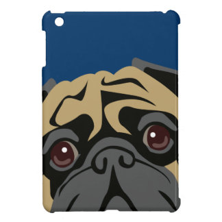 Cuddly Pug iPad Mini Cases