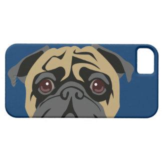 Cuddly Pug iPhone SE/5/5s Case