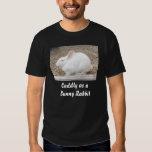 Cuddly White Bunny Tee Shirt