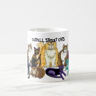 CUDELL STREET CATS MUGS