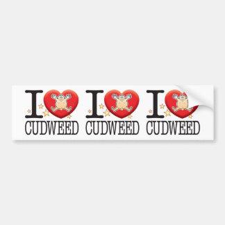 Cudweed Love Man Bumper Sticker