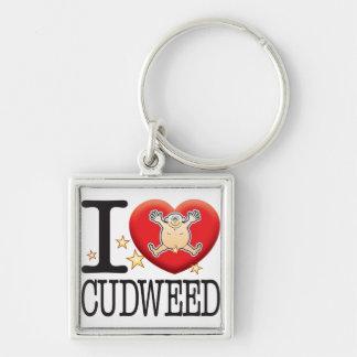 Cudweed Love Man Keychain