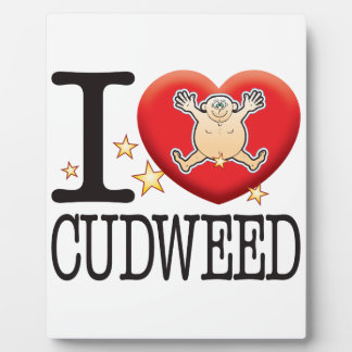 Cudweed Love Man Plaque