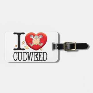 Cudweed Love Man Tag For Luggage