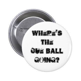 Cue Ball Snooker Quote Badge Button